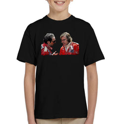 Motorsport Images Niki Lauda & James Hunt Monaco GP 1976 Kid's T-Shirt - POD66