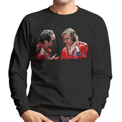 Motorsport Images Niki Lauda & James Hunt Monaco GP 1976 Men's Sweatshirt
