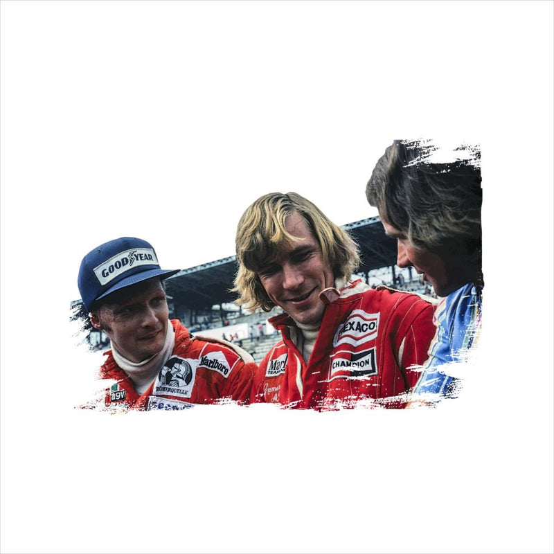 Motorsport Images Niki Lauda James Hunt & Barry Sheene Women's Vest - POD66