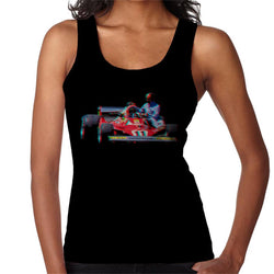 Motorsport Images Niki Lauda 312T2 Mechanic Lift Women's Vest - POD66