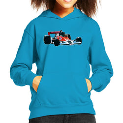 Motorsport Images James Hunt McLaren M26 1977 Kid's Hooded Sweatshirt - POD66