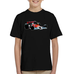 Motorsport Images James Hunt McLaren M26 1977 Kid's T-Shirt - POD66