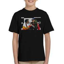 Motorsport Images James Hunt Podium Interview Kid's T-Shirt - POD66