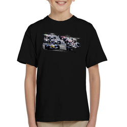 Motorsport Images San Marino GP 2005 Starting Shot Kid's T-Shirt - POD66