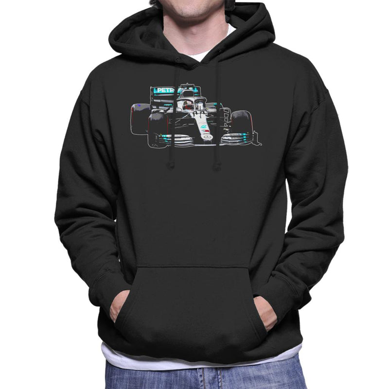 Motorsport Images Lewis Hamilton AMG F1 W10 Monaco GP Men's Hooded Sweatshirt - POD66