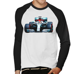 Motorsport Images Lewis Hamilton AMG F1 W10 Monte Carlo Men's Baseball Long Sleeved T-Shirt - POD66