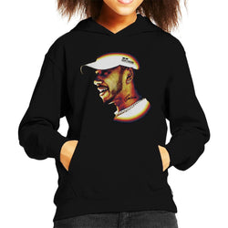 Motorsport Images Lewis Hamilton Speech At 2019 Canadian GP Kid's Hooded Sweatshirt - POD66