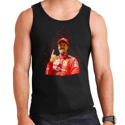 Motorsport Images Sebastian Vettel Pole Position Victory Canadian GP Men's Vest - POD66