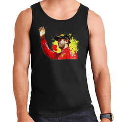 Motorsport Images Sebastian Vettel Podium Celebration Canadian GP Men's Vest - POD66