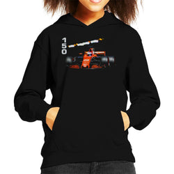 Motorsport Images Jenson Button McLaren MCL32 Monte Carlo Kid's Hooded Sweatshirt - POD66