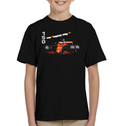 Motorsport Images Jenson Button McLaren MCL32 Monte Carlo Kid's T-Shirt - POD66