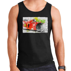 Motorsport Images Michael Schumacher Barcelona Spanish GP Men's Vest - POD66