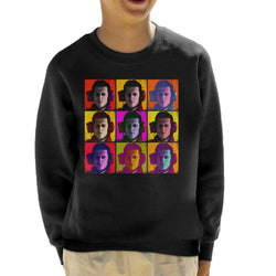 Motorsport Images Michael Schumacher Italian GP Pop Art Kid's Sweatshirt - POD66