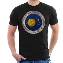 NASA Seal Insignia Distressed Men's T-Shirt - POD66