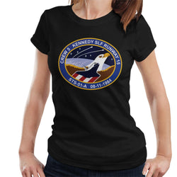 NASA STS 51 A Discovery Mission Badge Women's T-Shirt - POD66