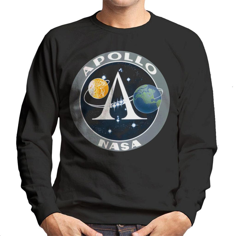 NASA Apollo Program Logo Badge Men's Sweatshirt - POD66