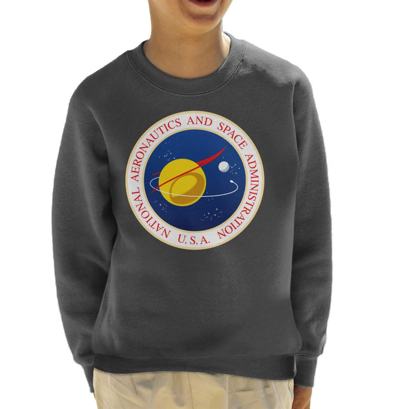 NASA Seal Insignia Kid's Sweatshirt - POD66