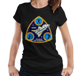NASA Spacelab Life Sciences 1 Mission Badge Women's T-Shirt - POD66