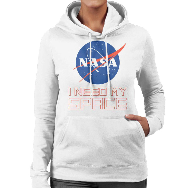 NASA I Need My Space Women's Hooded Sweatshirt - POD66