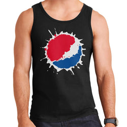Pepsi Splash Logo Men's Vest - POD66