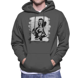 Pepsi Girl Graffiti Men's Hooded Sweatshirt