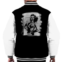Pepsi Girl Graffiti Men's Varsity Jacket