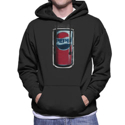 Pepsi 70s Graffiti Can Men's Hooded Sweatshirt