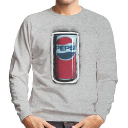 Pepsi 70s Graffiti Can Men's Sweatshirt