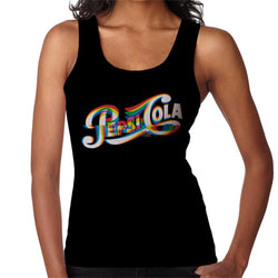 Pepsi 1940s Glitch Art Women's Vest - POD66
