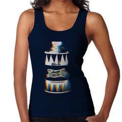 Pepsi Cola Retro Bottle Glitch Art Women's Vest - POD66