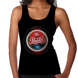 Pepsi Cola Retro Circle Logo Women's Vest - POD66
