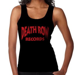 Death Row Records Logo Red Women's Vest - POD66