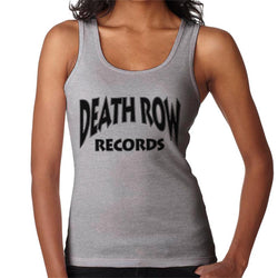 Death Row Recrods Logo Black Women's Vest - POD66