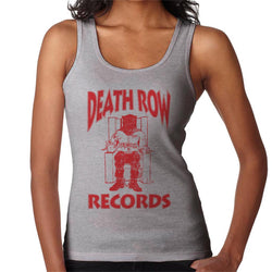 Death Row Records Chair Logo Red Women's Vest - POD66
