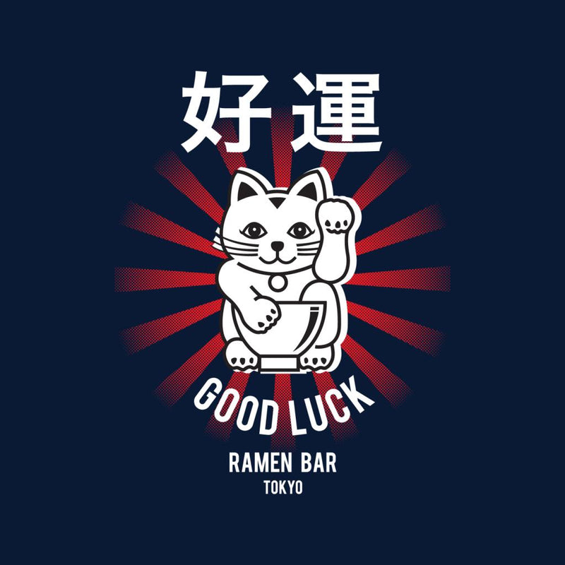 The Ramen Clothing Company Good Luck Noodle Bar Tokyo Kid's Sweatshirt - POD66