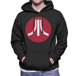 Atari Circle Logo Men's Hooded Sweatshirt - POD66