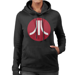 Atari Circle Logo Women's Hooded Sweatshirt - POD66