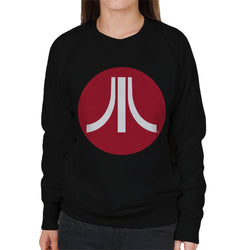 Atari Circle Logo Women's Sweatshirt - POD66