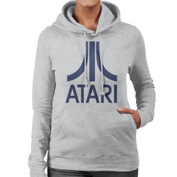 Atari Navy Logo Women's Hooded Sweatshirt - POD66
