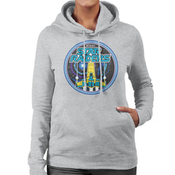 Atari Star Raiders Retro Women's Hooded Sweatshirt - POD66