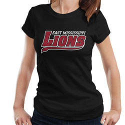 East Mississippi Community College Lions Tail Logo Women's T-Shirt - POD66
