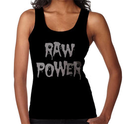 Iggy And The Stooges Raw Power Women's Vest - POD66