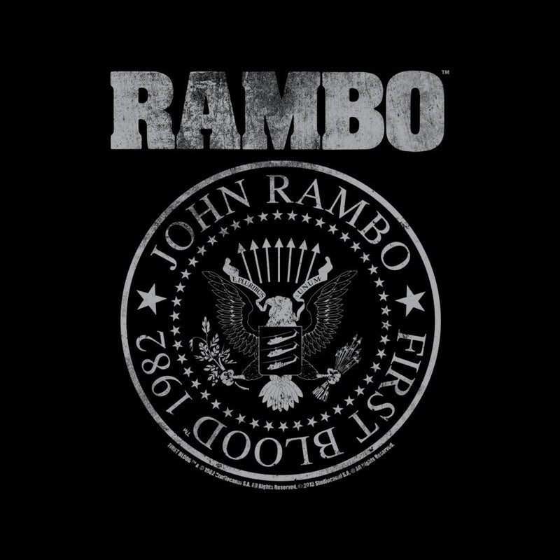 Rambo Distressed Seal Men's T-Shirt - POD66