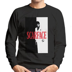 Scarface Movie Poster Men's Sweatshirt - POD66