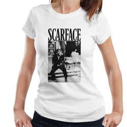Scarface Machine Gun Scene Women's T-Shirt - POD66