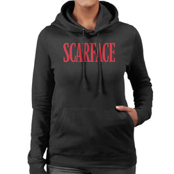 Scarface Logo Women's Hooded Sweatshirt - POD66