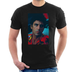 Scarface Pacino Portrait Men's T-Shirt - POD66
