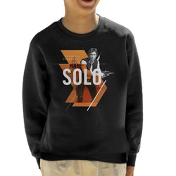Star Wars Han Solo Smuggler Scoundrel Hero Kid's Sweatshirt - POD66