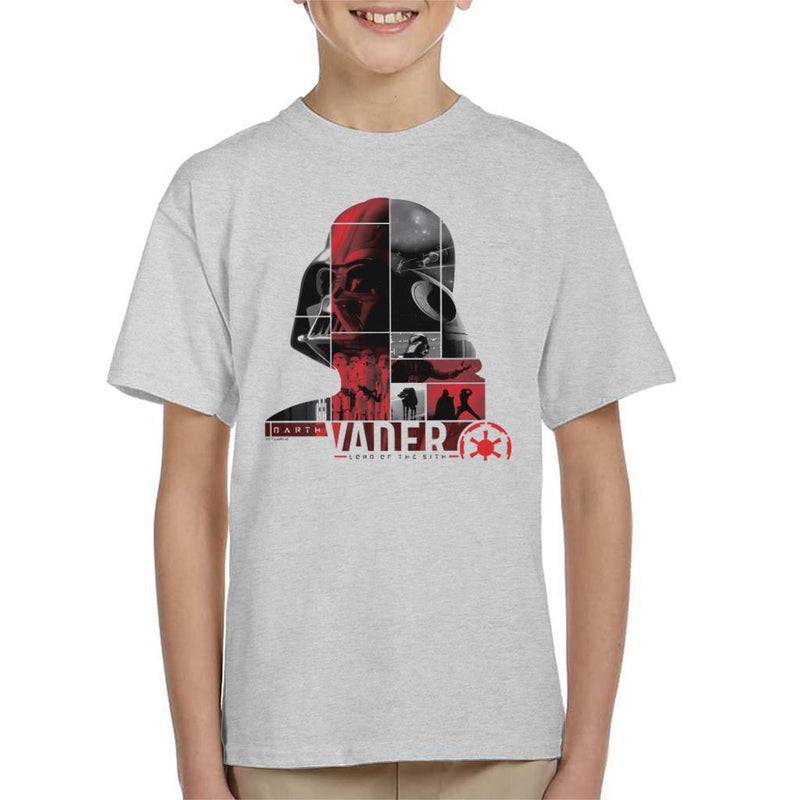 Star Wars Darth Vader Lord Of The Sith Kid's T-Shirt - POD66