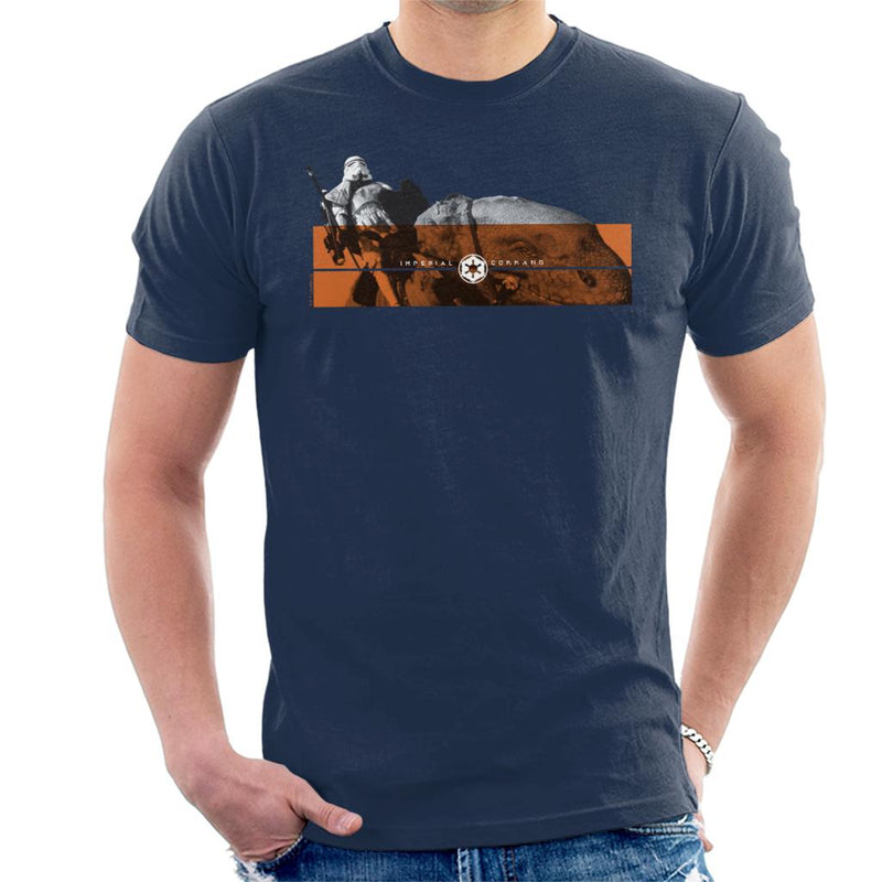Star Wars Imperial Command Dewback Stromtroopers Men's T-Shirt - POD66